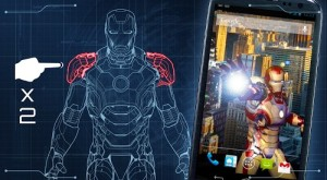 Iron Man 3 mobile phone game scene
